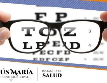 Emprenden campaña de salud visual en Jesús María