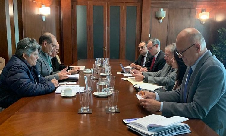 Se reúne gobernador de Aguascalientes con secretario de Salud Federal por INSABI