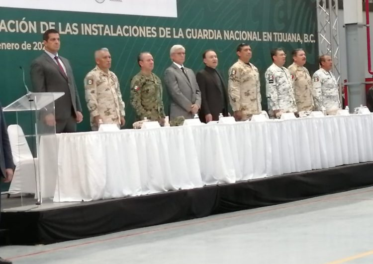 Inauguran instalaciones de la Guardia Nacional en Tijuana; Bonilla les pide mayor presencia
