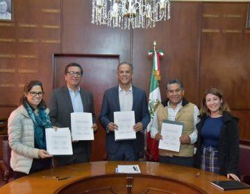 Firman convenio ayuntamiento de Jesús María y el CIDE para políticas públicas
