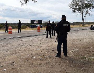 Blindan fronteras de Aguascalientes tras enfrentamiento a balazos en Jalisco