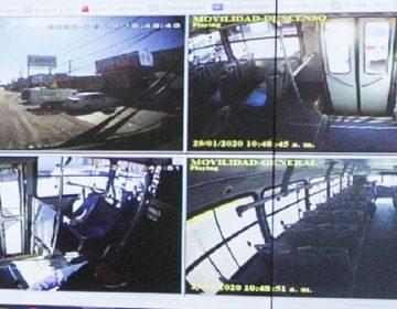 Instalarán cámaras y botones de pánico en camiones urbanos