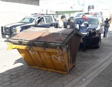 Localizan feto en contenedor de basura en San Francisco de los Romo