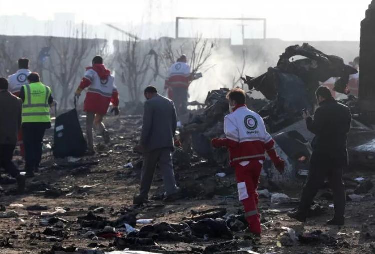 Irán derribó el avión ucraniano con un misil tierra-aire