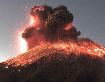 Despierta el Popocatépetl