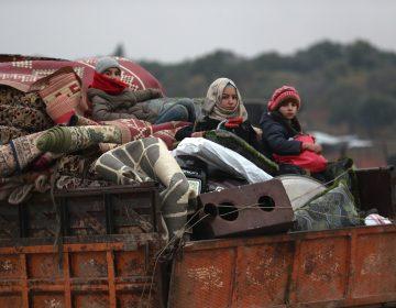 Más de 6,500 niños al día se vieron forzados a huir la semana pasada en Siria
