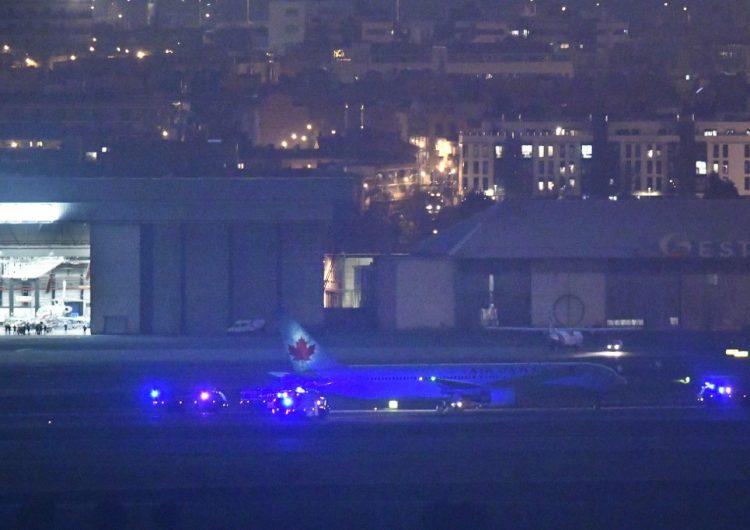 Avión de Air Canada aterriza de emergencia tras horas sobrevolando España por falla técnica