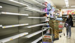 COVID-19 | Ladrones roban cientos de rollos de papel higiénico…