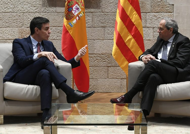 La negociación entre gobierno español e independentistas catalanes empezará este mes