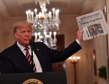 """""""Pasamos por el infierno injustamente"""": Trump celebra su absolución en el juicio político"""
