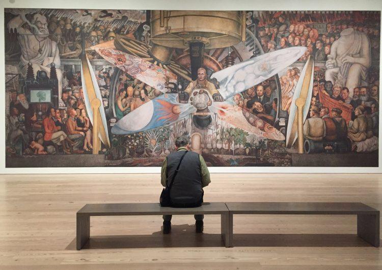 Mural 'incómodo'de Diego Rivera vuelve a Nueva York