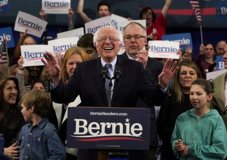 El socialista Bernie Sanders gana la primaria demócrata de New Hampshire