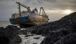 """Lo que sabemos del """"barco fantasma"""" que llegó a Irlanda…"""