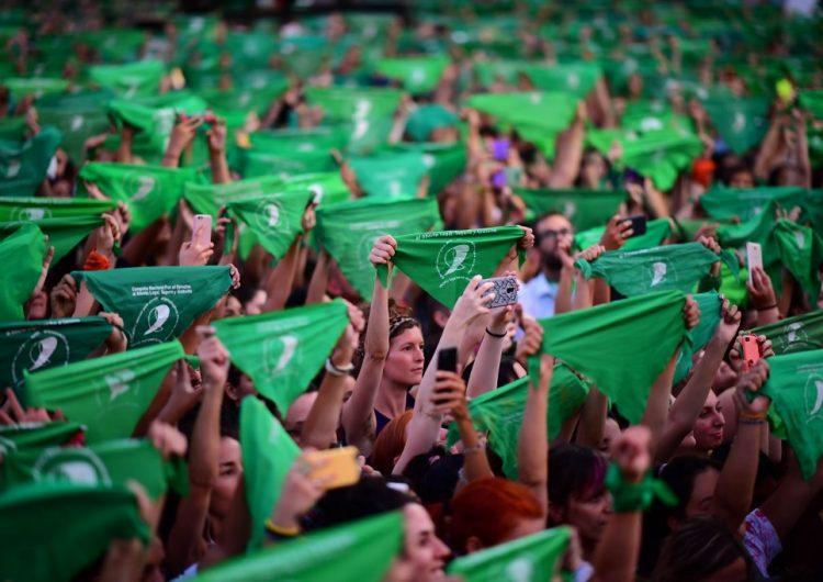 #19F | Argentina exige aborto legal a dos años del pañuelazo verde que dio inicio al debate