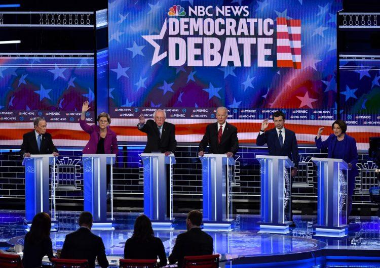 Lo que dijeron los aspirantes a la Casa Blanca sobre AMLO durante el debate demócrata