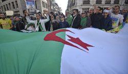 Gran movilización en Argelia por el primer aniversario de las…