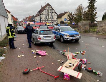 Conductor atropella a varias personas en un desfile de carnaval en Volkmarsen, Alemania