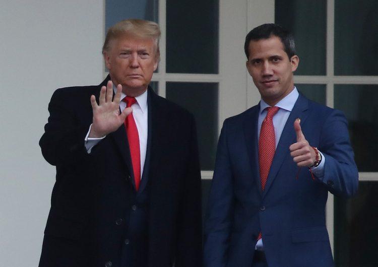 """Trump recibe a Juan Guaidó; Maduro le advierte que """"no podrá con Venezuela"""""""