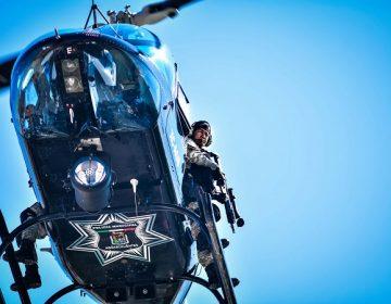 Retoma Policía Municipal de Aguascalientes recorridos de vigilancia en helicóptero