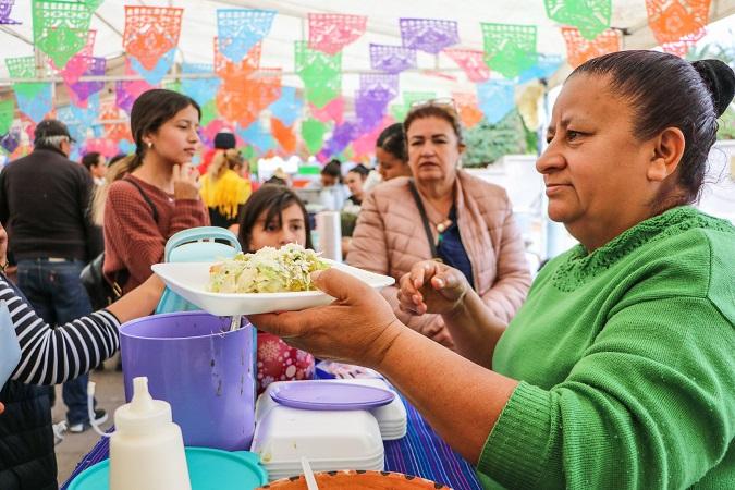 Dejó Festival del Tamal y el Atole derrama económica de 7 mdp