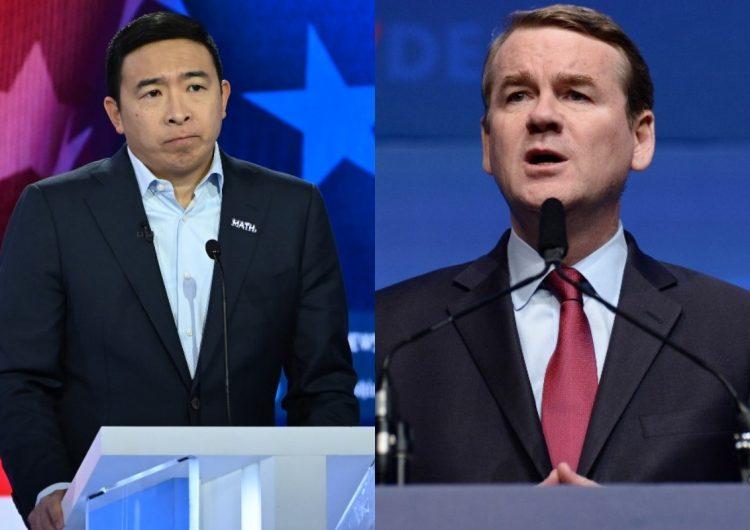 Andrew Yang y Michael Bennet renuncian la carrera por la candidatura demócrata
