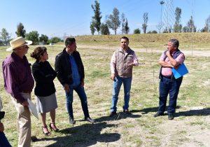 Avanza creación de bosque urbano al oriente de Aguascalientes