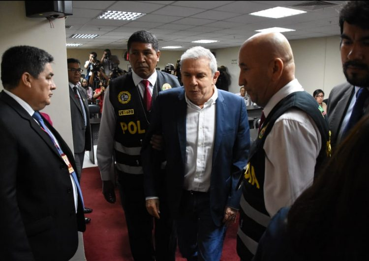 Exalcalde de Lima encarcelado escándalo de Odebrecht