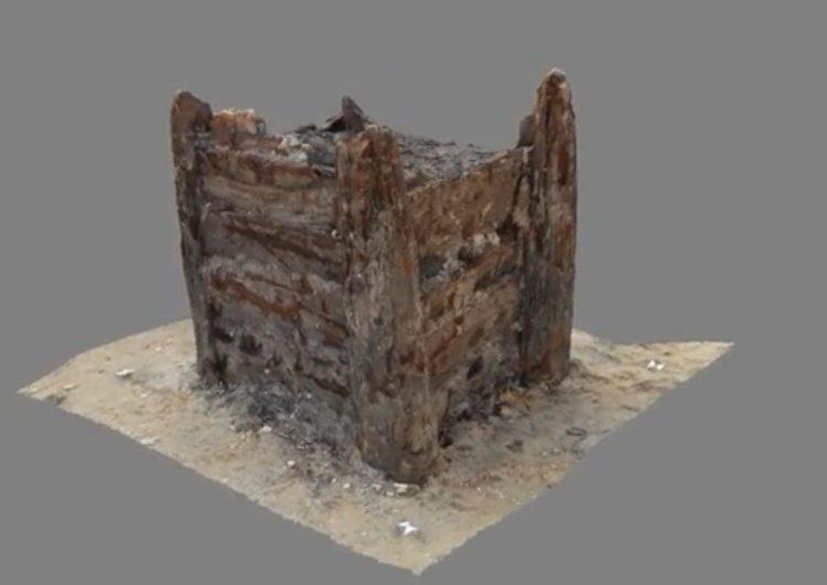 Arqueólogos checos encuentran el pozo de madera más antiguo del mundo