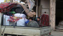 Los civiles en Idlib, Siria, se están quedando sin opciones…