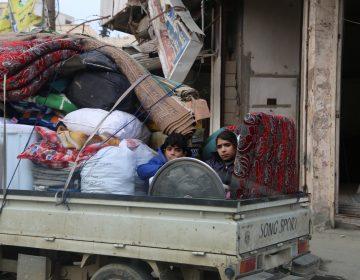 Los civiles en Idlib, Siria, se están quedando sin opciones para escapar de la violencia