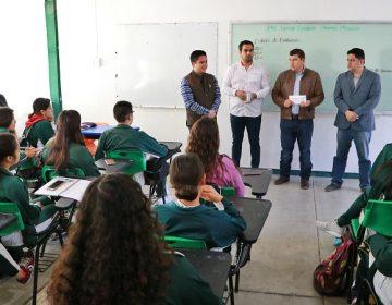 Fortalecen programa de jóvenes con valores y liderazgo en Calvillo