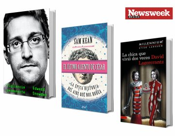 Tres libros esenciales: Edward Snowden, Sam Kean, David Lagercrantz…