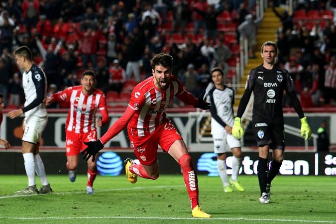 De último minuto Necaxa salva el invicto contra Monterrey