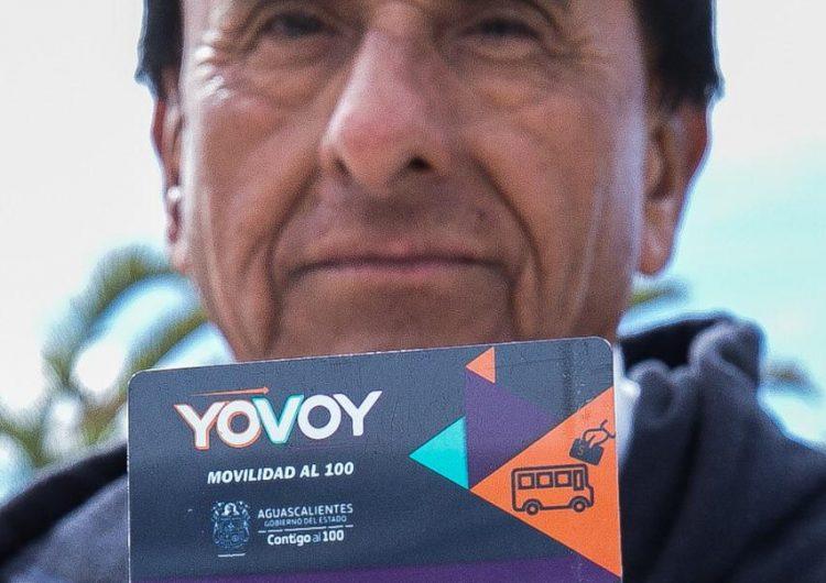 Este sábado entra en vigor tarjeta YoVoy para adultos mayores y personas con discapacidad