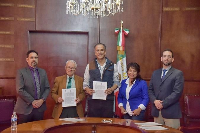 Firman convenio de colaboración COESAMED y municipio de Jesús María