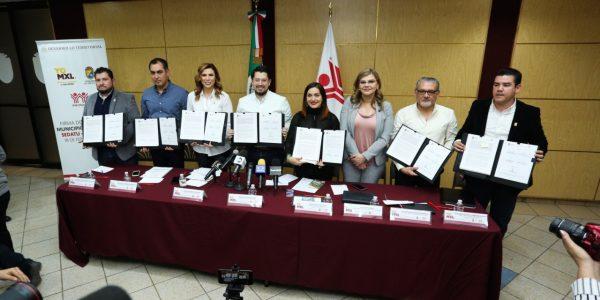 Firman convenio para recuperar casas abandonadas en Mexicali