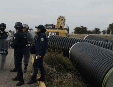 Sin autorización federal, inician construcción de drenaje en Ciudad Textil