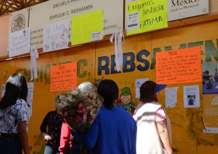#JusticiaParaFátima: El asesinato de un niña de 7 años causa indignación en México