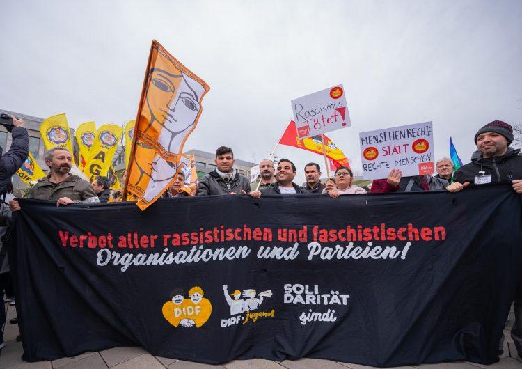 Miles de personas marchan en Hanau por los derechos humanos tras el atentado racista de esta semana