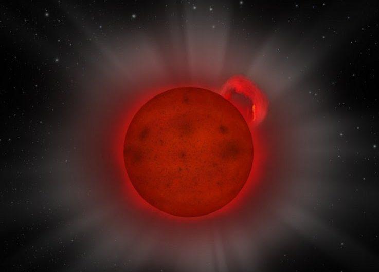 Una estrella diminuta emite rayos X diez veces más intensos que el Sol