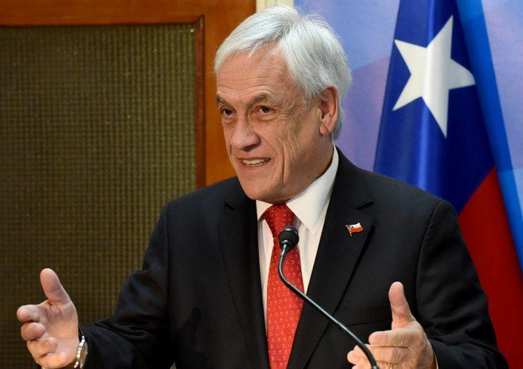 Piñera da polémico discurso que responsabiliza a las mujeres por la violencia