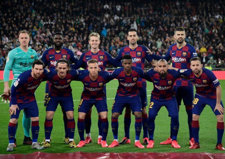 Messi y futbolistas del Barcelona se bajan el sueldo un 70% por el coronavirus