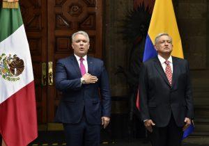 México y Colombia acuerdan trabajar juntos para combatir el narcotráfico