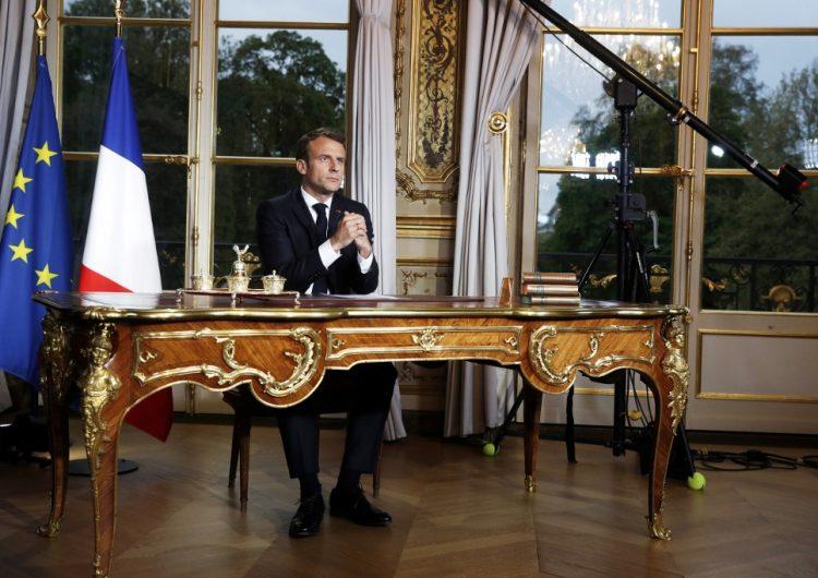 Macron anuncia cierre de escuelas y universidades en Francia, pero se mantienen elecciones