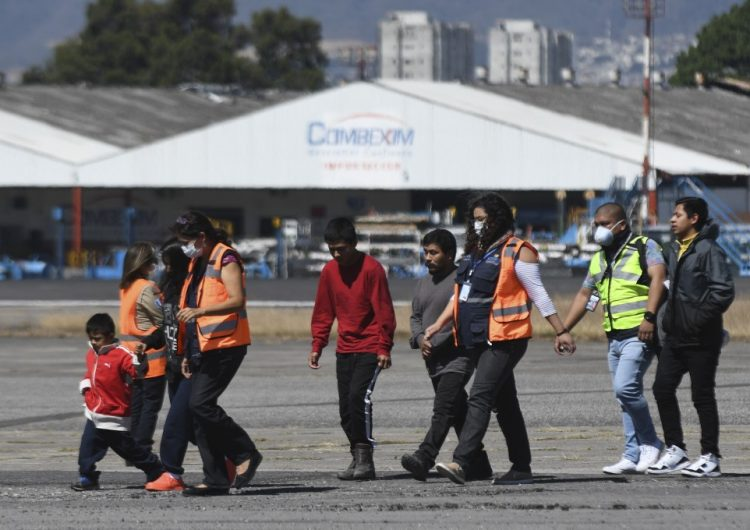 Deportaciones de Estados Unidos a Guatemala continuarán pese a coronavirus