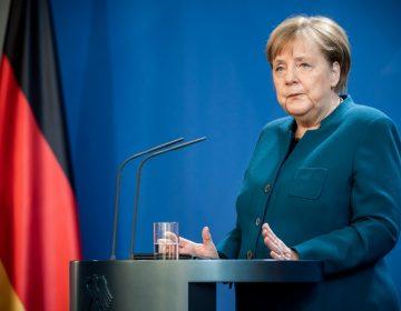 Merkel da negativo en la segunda prueba diagnóstica por coronavirus