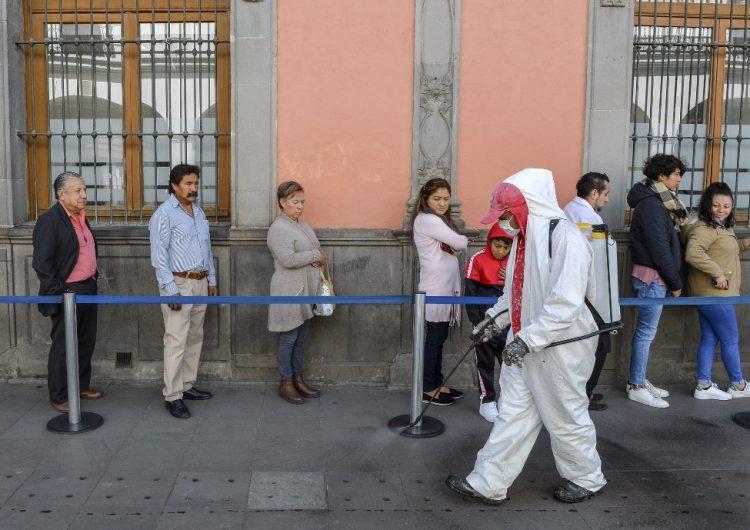Cinco muertos y 405 casos confirmados de COVID-19 en México