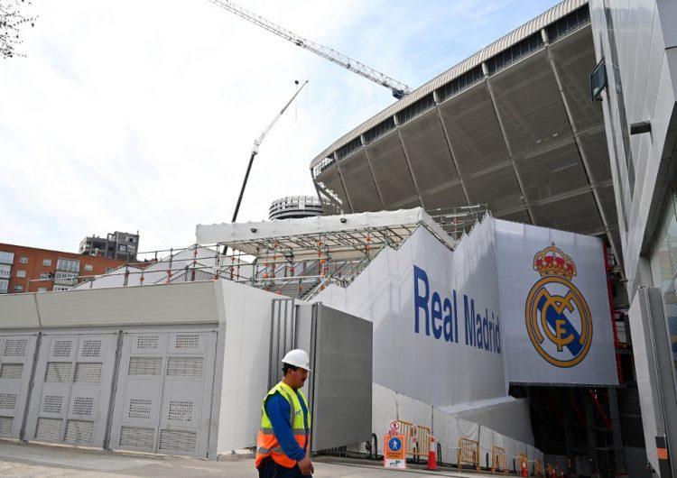 El Santiago Bernabéu se convierte en un almacén de material contra el coronavirus