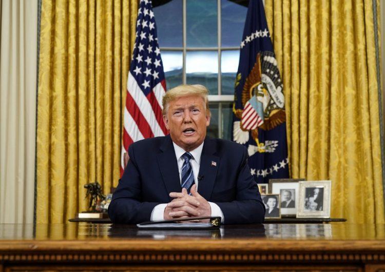 Trump anuncia suspensión de los vuelos de Europa a EU durante 30 días