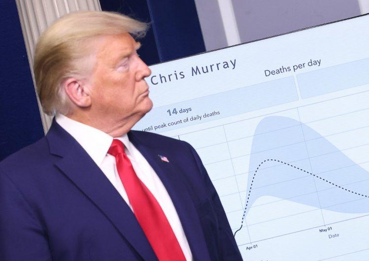 "Donald Trump advierte que se aproximan ""dos semanas muy difíciles"" a causa del coronavirus"